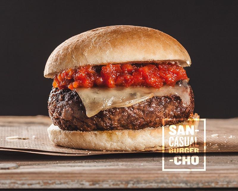 Navarra Burger, Sancho Casual Burger en Granada